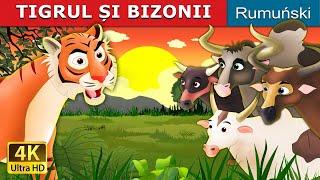 TIGRUL ȘI BIZONII | Povesti pentru copii | Basme in limba romana | Romanian Fairy Tales