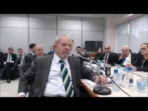 Íntegra do depoimento do ex-presidente Luiz Inácio Lula da Silva ao juiz Sérgio Moro - parte 4