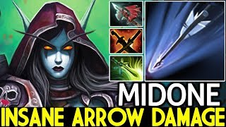 Midone [Drow Ranger] Insane Arrow Damage Just need Right Click 7.21 Dota 2