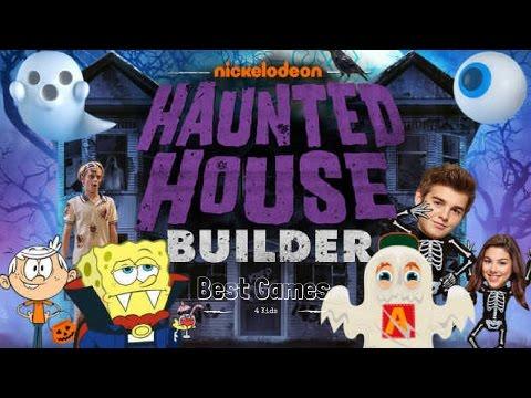 Nickelodeon: Haunted House Builder Game   Nick Halloween Game  