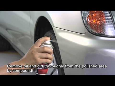 "SOFT99 ""How To Repair A Deep Scratch On Bumper (Step2: Paint)"" ?SOFT99 TV?"