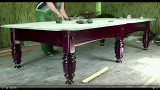 Сборка бильярдного стола Миллениум. Монтаж бильярдного стола. Как собрать бильярдный стол.(, 2013-08-03T08:02:43.000Z)