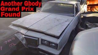 Gbody Pontiac Grand Prix Junk Yard Find