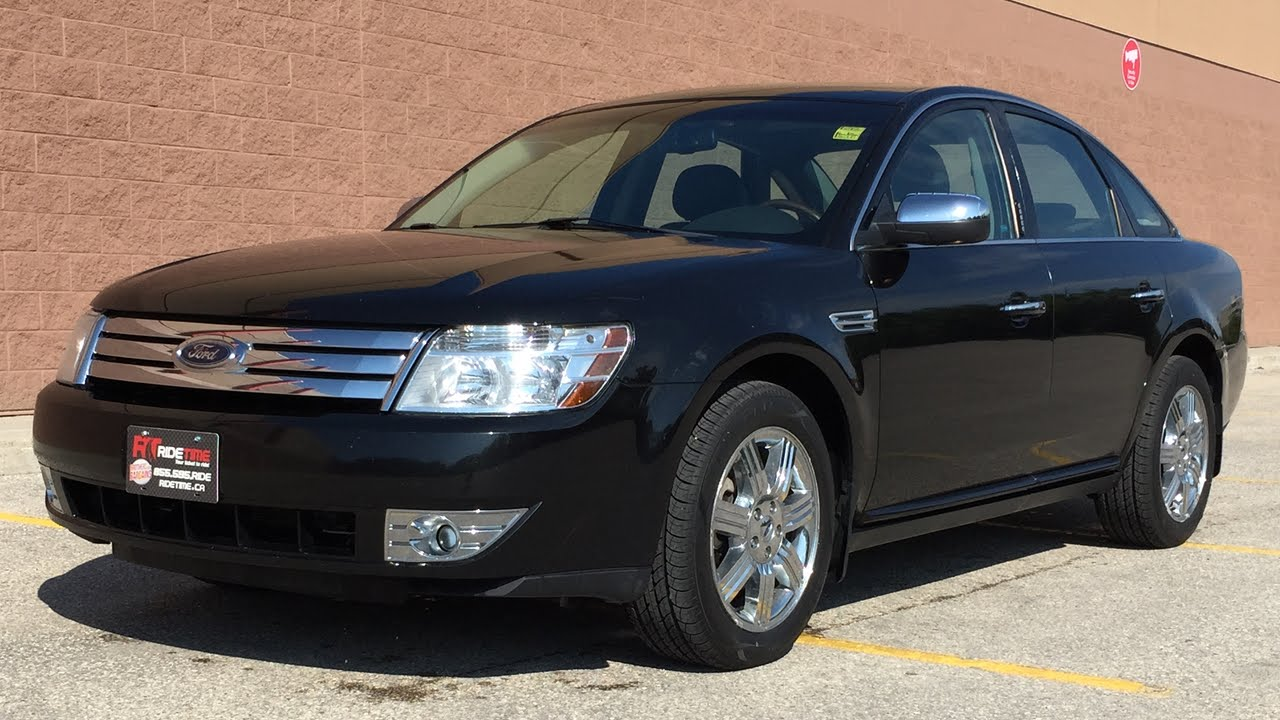 2009 Ford Taurus Limited Awd Leather Alloy Wheels