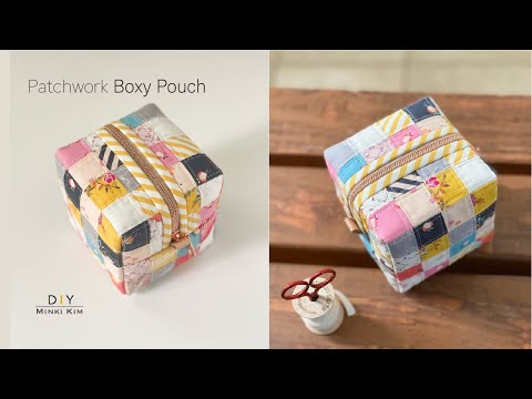 How to make Patch Box Pouch