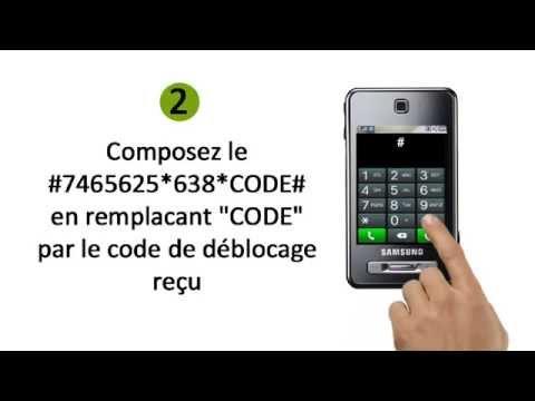 Comment Débloquer un Téléphone Samsung F480