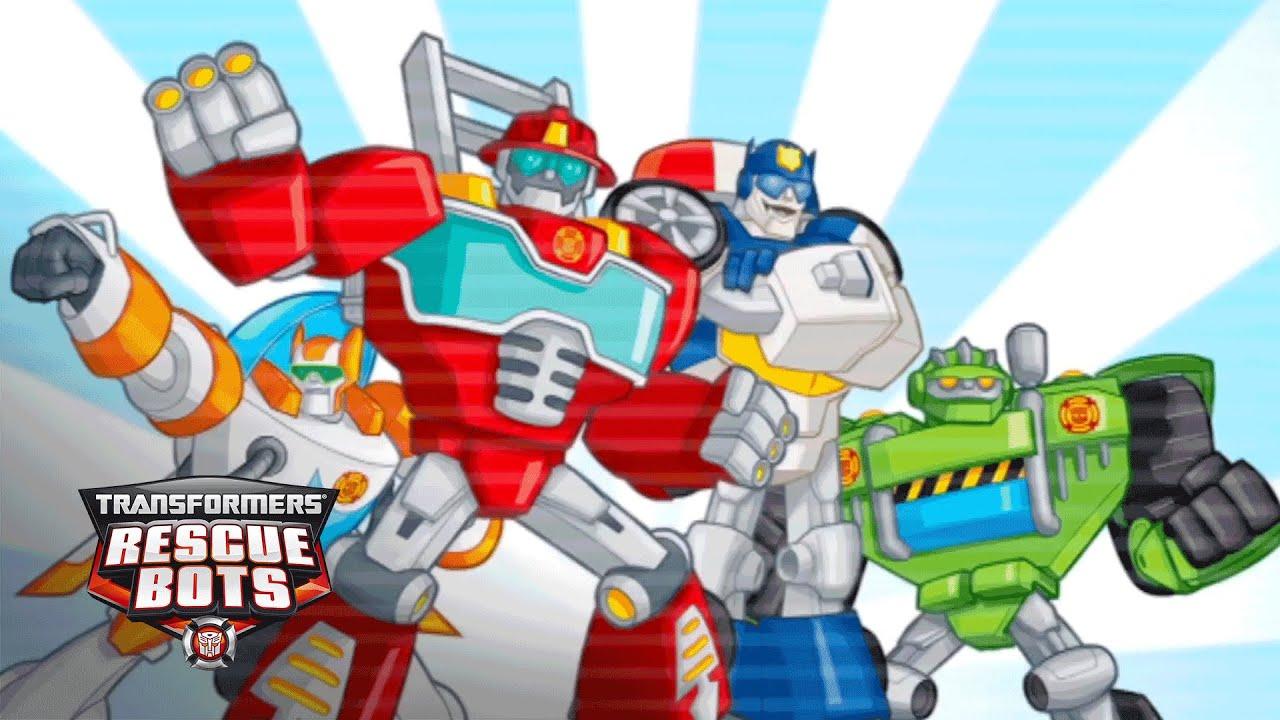 Transformers Rescue Bots Hero Adventures Official App Trailer