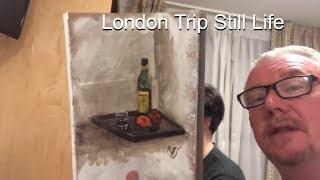 Last Day London Trip 2018 Clive5art & Jason Bowen Painting Lessons