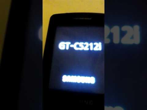 Samsung GT-C5212i Lov Batteri Off