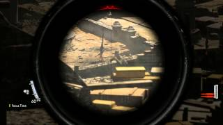 ShadowPlay: Exploding skulls and vital hits - Sniper Elite V2