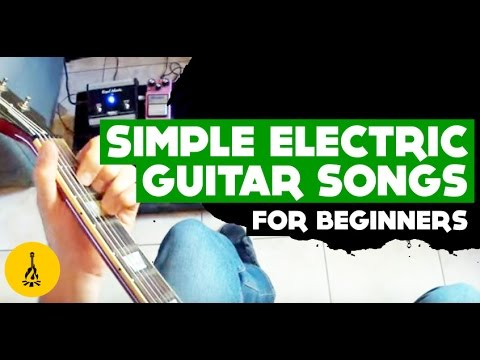 learn how to play electric guitar for beginners step by step easy electric guitar songs youtube. Black Bedroom Furniture Sets. Home Design Ideas