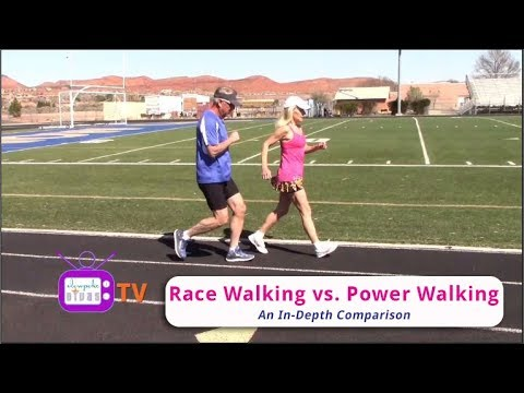 Race Walking vs. Power Walking