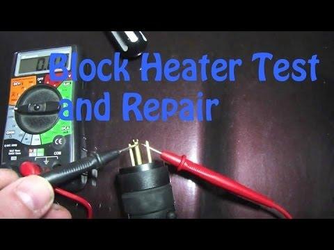 2007 Hyundai Elantra Fuse Box Testing And Repairing A Block Heater Cord A Real Easy Fix
