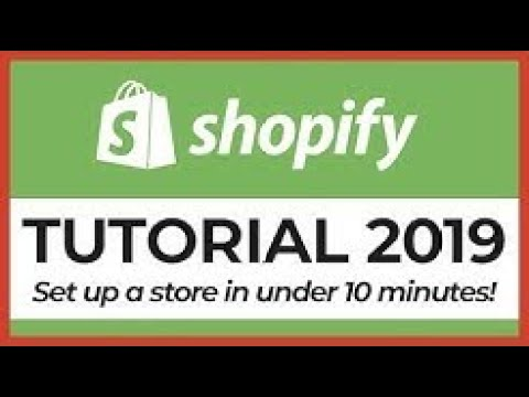 Shopify Dropshipping Tutorial: How To Make $10000/Month & QUIT Your 9-5 Job (2019) thumbnail