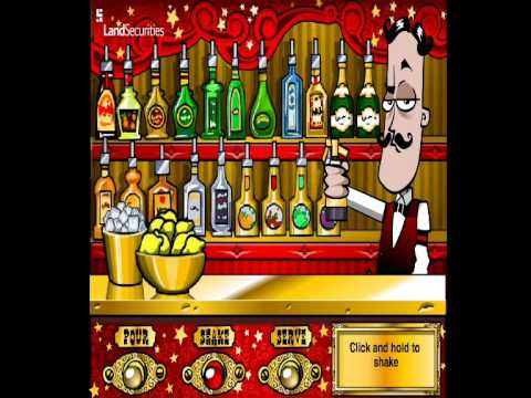 Bartender (Y8 Games) Game Review - YouTube