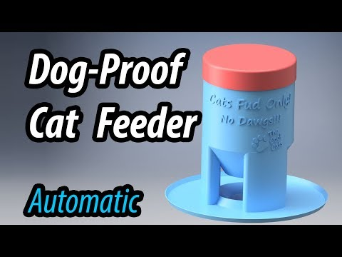 dog-proof-cat-feeder---3d-printed