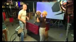 Как пьёт собака - замедленная съёмка. Телеканал Discovery mp4