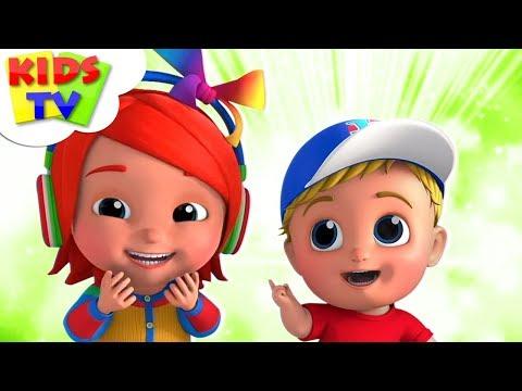 Ha Ha Song | Junior Squad Cartoons | Nursery Rhymes & Baby Songs - Kids TV