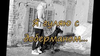 Я гуляю с доберманом )) Ё)