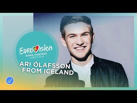 Ari Ólafsson's emotions after he won the Icelandic ticket to Lisbon