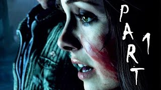 Until Dawn Walkthrough Gameplay Part 1 - Mystery Man (PS4)