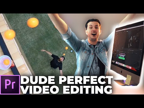How To Edit Videos Like DUDE PERFECT (+ FREE transitions)