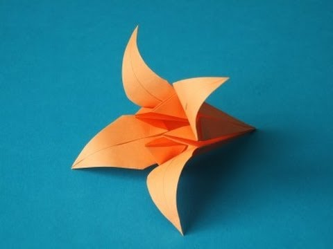 origami iris flower instructions mothers day full