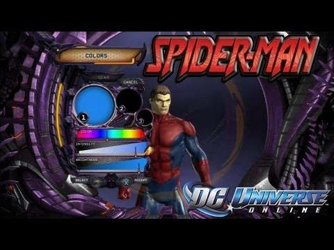 DC Universe Online - Spider-Man Creation tutorial