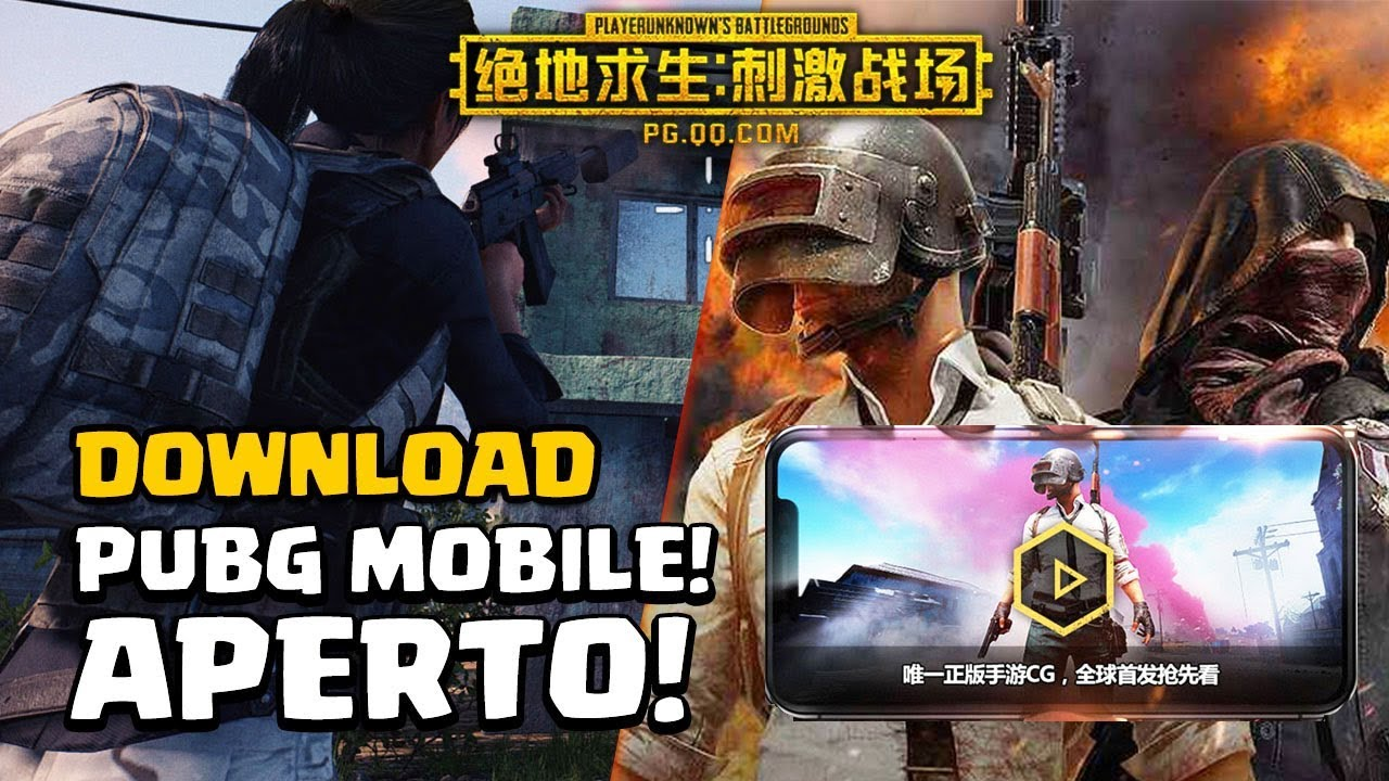 Download Pubg Wallpapers For Android: DOWNLOAD PUBG Mobile! Ora Su IOS E Android! SUBITO AIRDROP