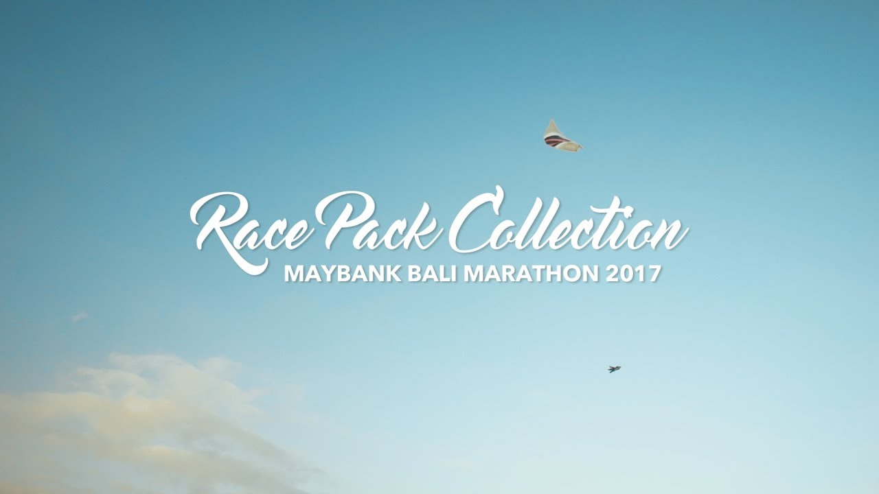 Bali Marathon 2017 - Race Pack Collection @ Taman Bhagawan