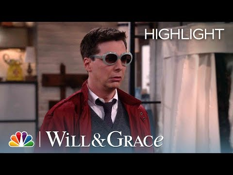 Rosario's Message From Beyond The Grave - Will & Grace (Episode Highlight)