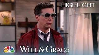 Rosario's Message From Beyond The Grave   Will & Grace (episode Highlight)
