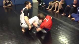 Top half guard capoeira pass to twister roll to truck to wr