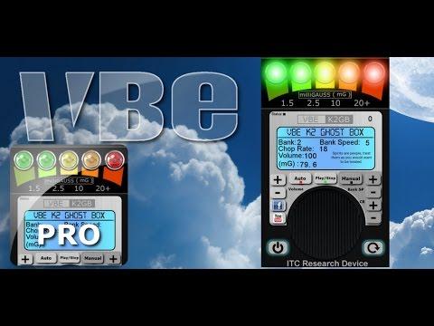 VBE K2 GHOST BOX PRO 1st video