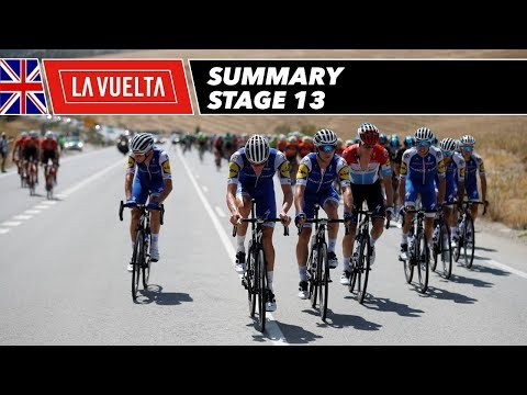 Summary - Stage 13 - La Vuelta 2017