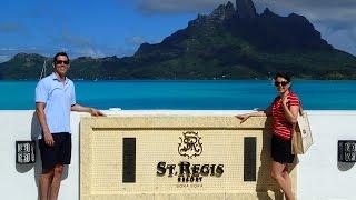 Honeymoon in Bora Bora - The St Regis Resort - May 2014