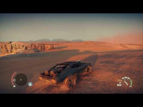 MadMax game - Secret area in the big nothing desert( main menu)