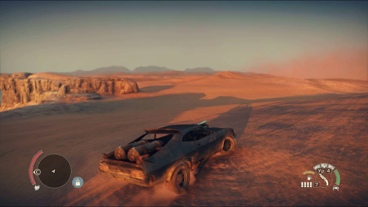 MadMax game Secret area in the big nothing desert main