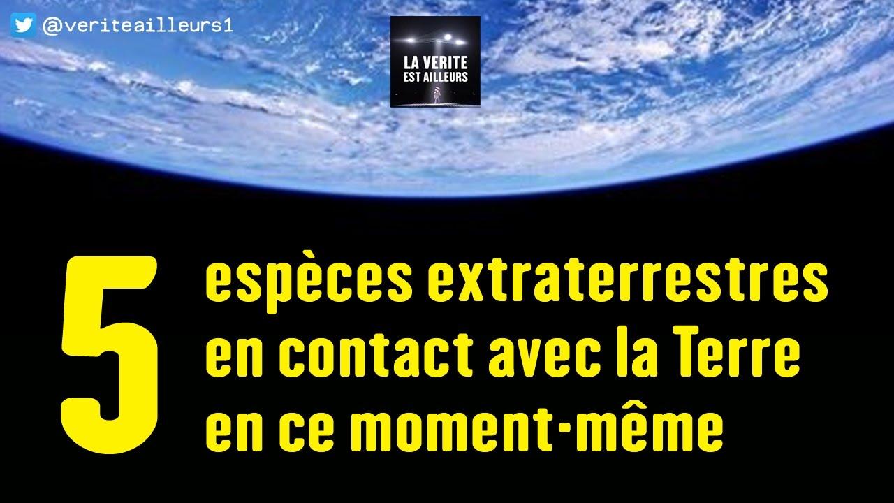 extraterrestre present sur terre