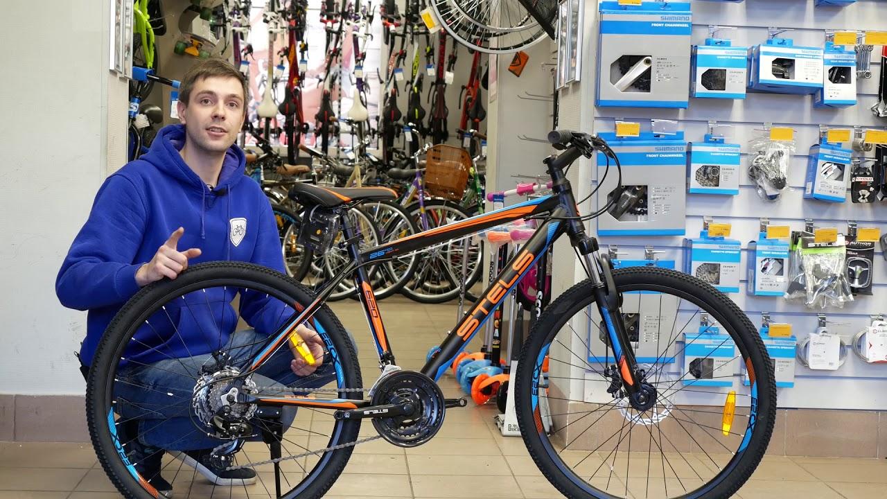 Горный велосипед Stels Pilot 970 MD 26 V021 (2018) - YouTube