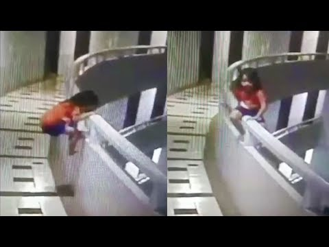 Girl, 5, survives fall from 11th floor hotel balcony while sleepwalking