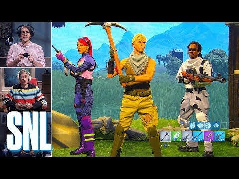 SNL's Fortnite Sketch is So True About Parents Playing the Game