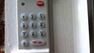 reset genie intellicode wireless pin remote programmable garage door opener