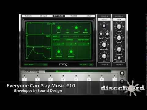 Everyone Can Play Music #10: Envelopes in Sound Design