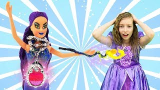 Принцесса София: злодейка на вечеринке, 2 часть. Видео для детей.