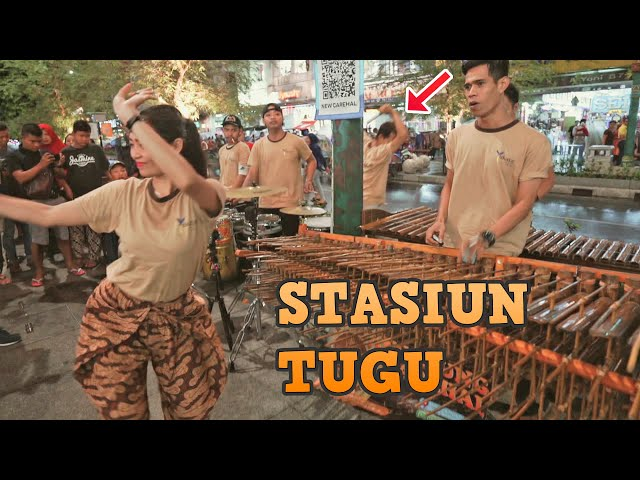 Tarik Sis.!! STASIUN TUGU Versi Angklung Carehal Cover (Angklung Malioboro) Dimas Tedjo