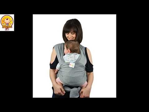 Premium Baby Wrap Carrier Original Natural Cotton Baby Slings Review