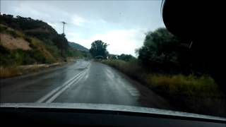 POV:Vw Polo Trip From Aigion to Patras,Achaia(Rainy Day)