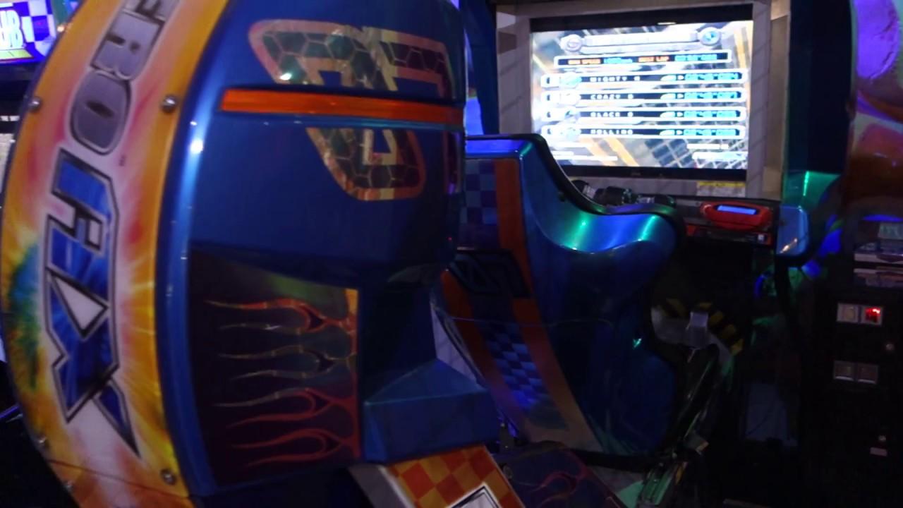 f zero ax arcade cabinet youtube