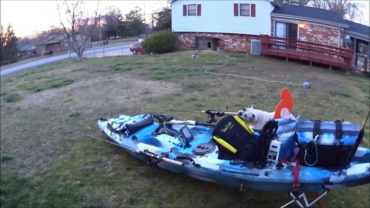 Field And Stream Eagle Talon 12 Kayak Setup And Accessories Youtube